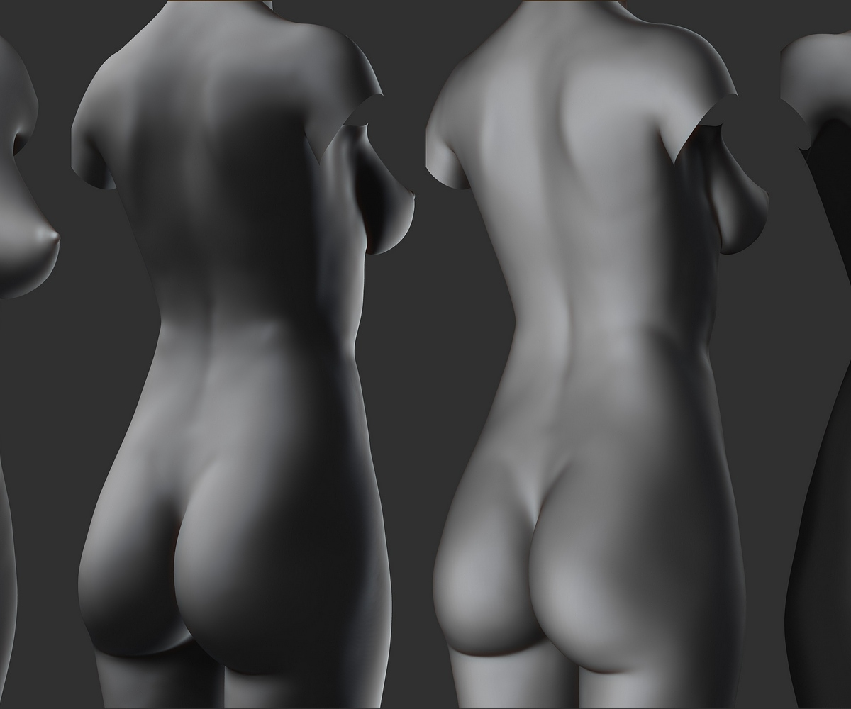 Zbrush Lighting Studies (Different angles).jpg