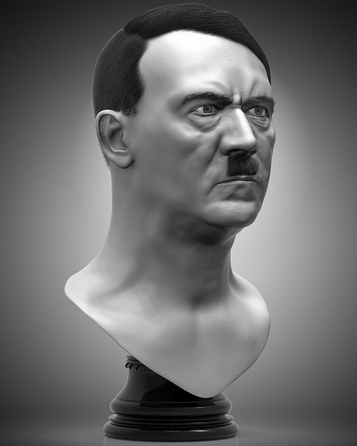 Bust of Adolf Hitler-Created by Esfandiyar Ebadi- Any kind of changes or misuse by any group or .jpg