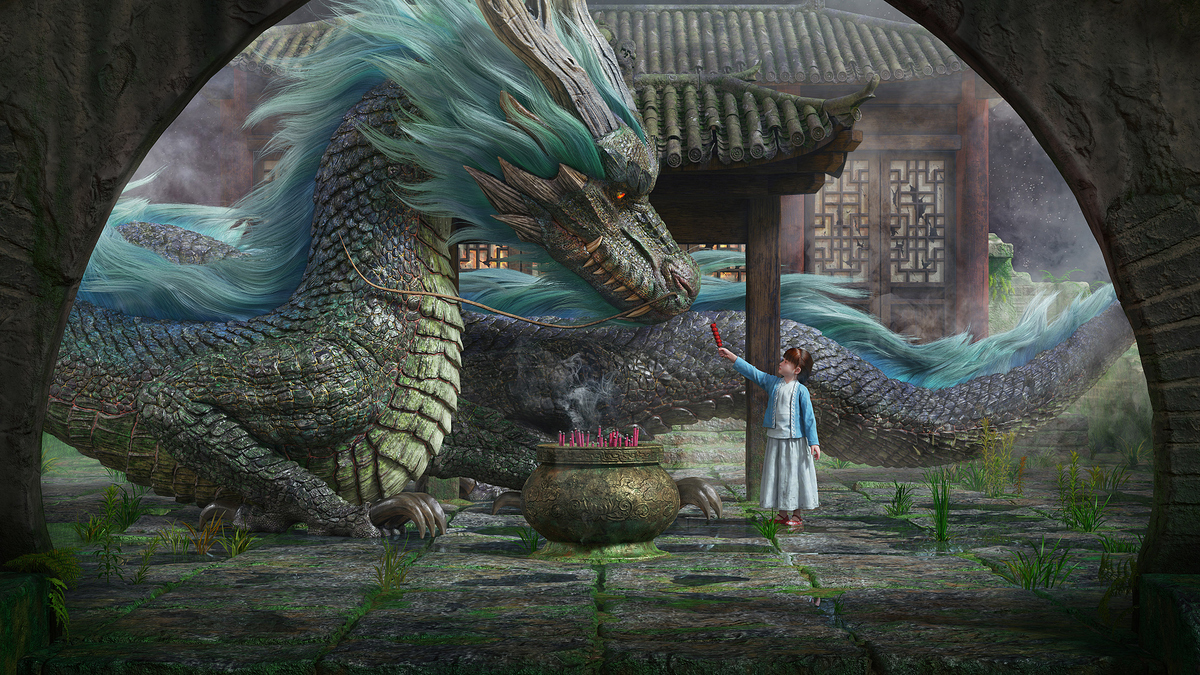 The Dragon and the Girl