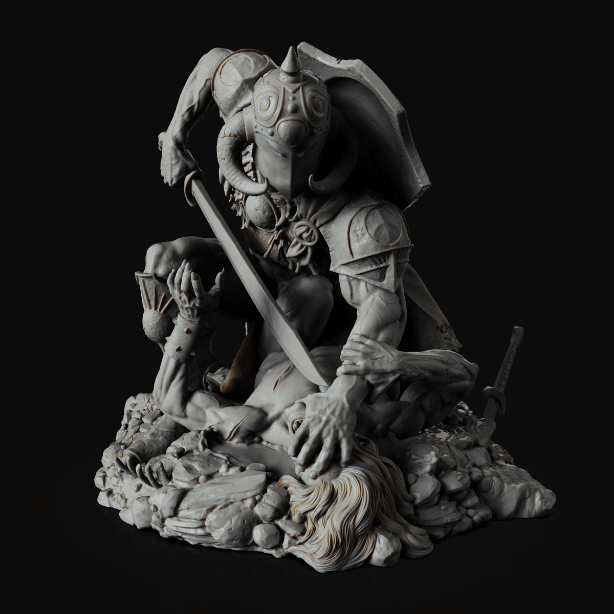 Death Dealer render 2.45