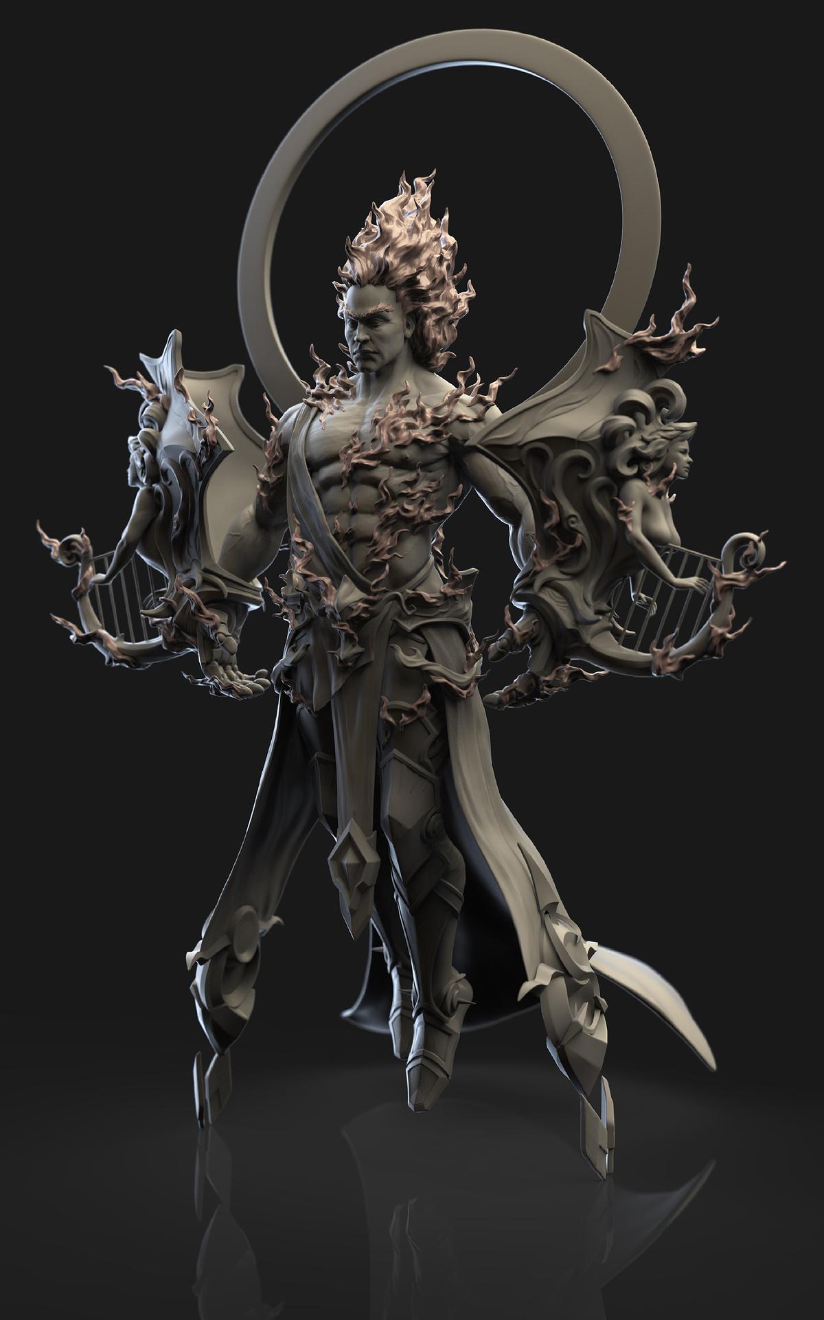God Of Sun Apollo