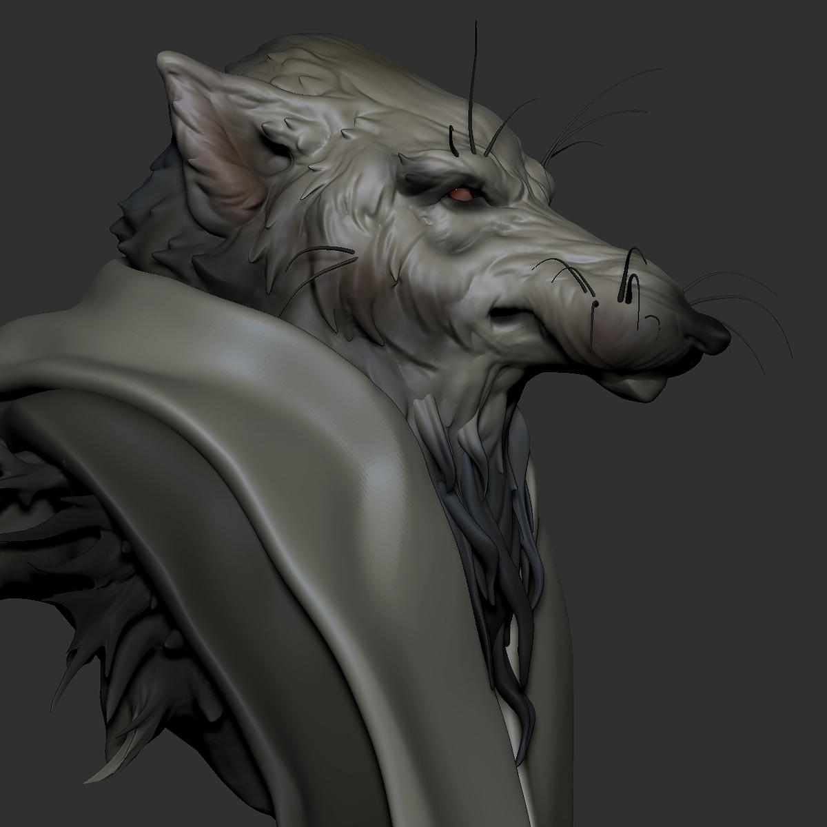Wolf_zbrush1