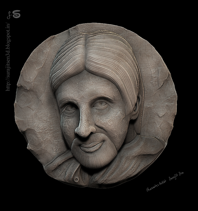 BIG_B_relief sculpt_SurajitSen_16042017.JPG