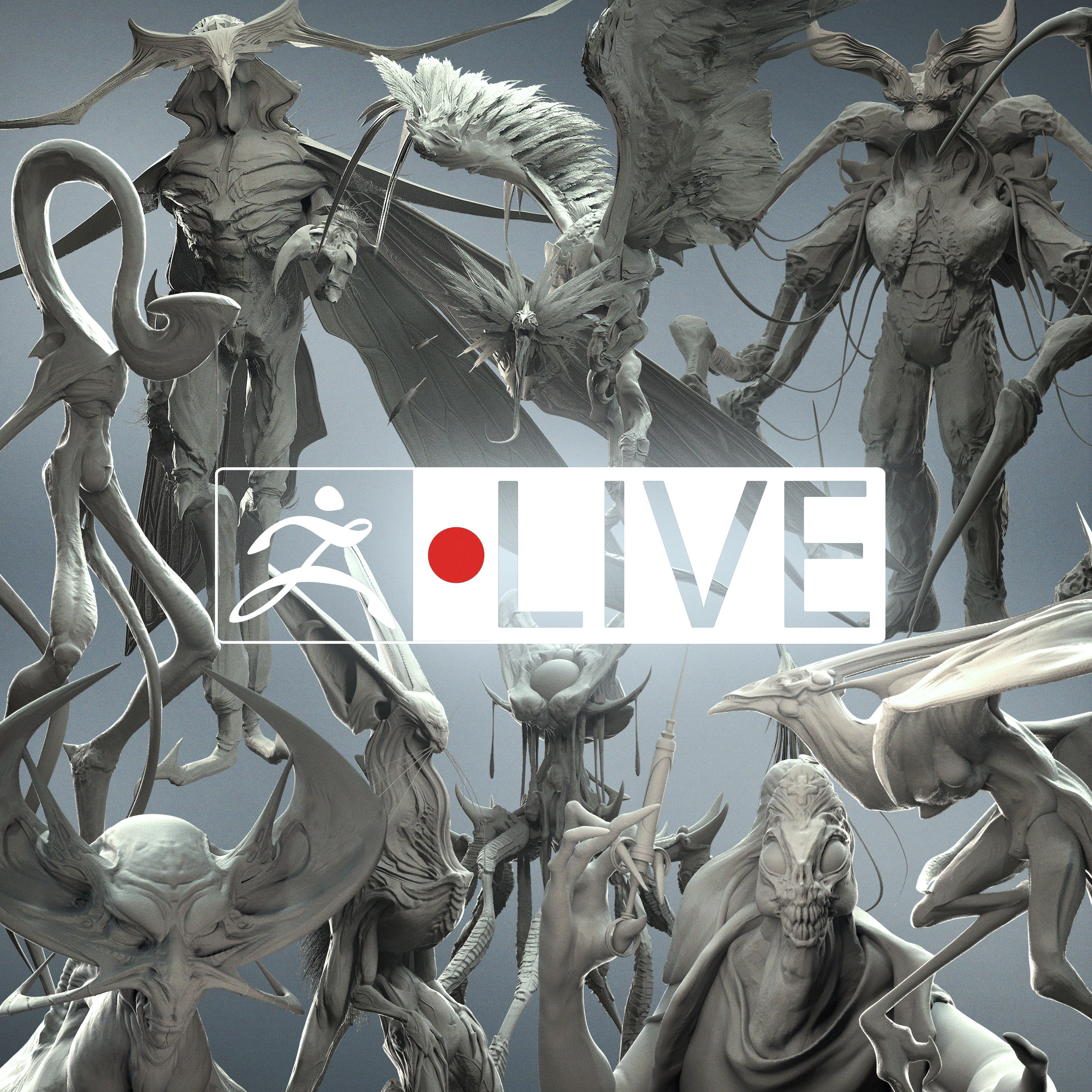 ZBrush Live Stream Sketches Dump - Ashley A  Adams - ZBrushCentral
