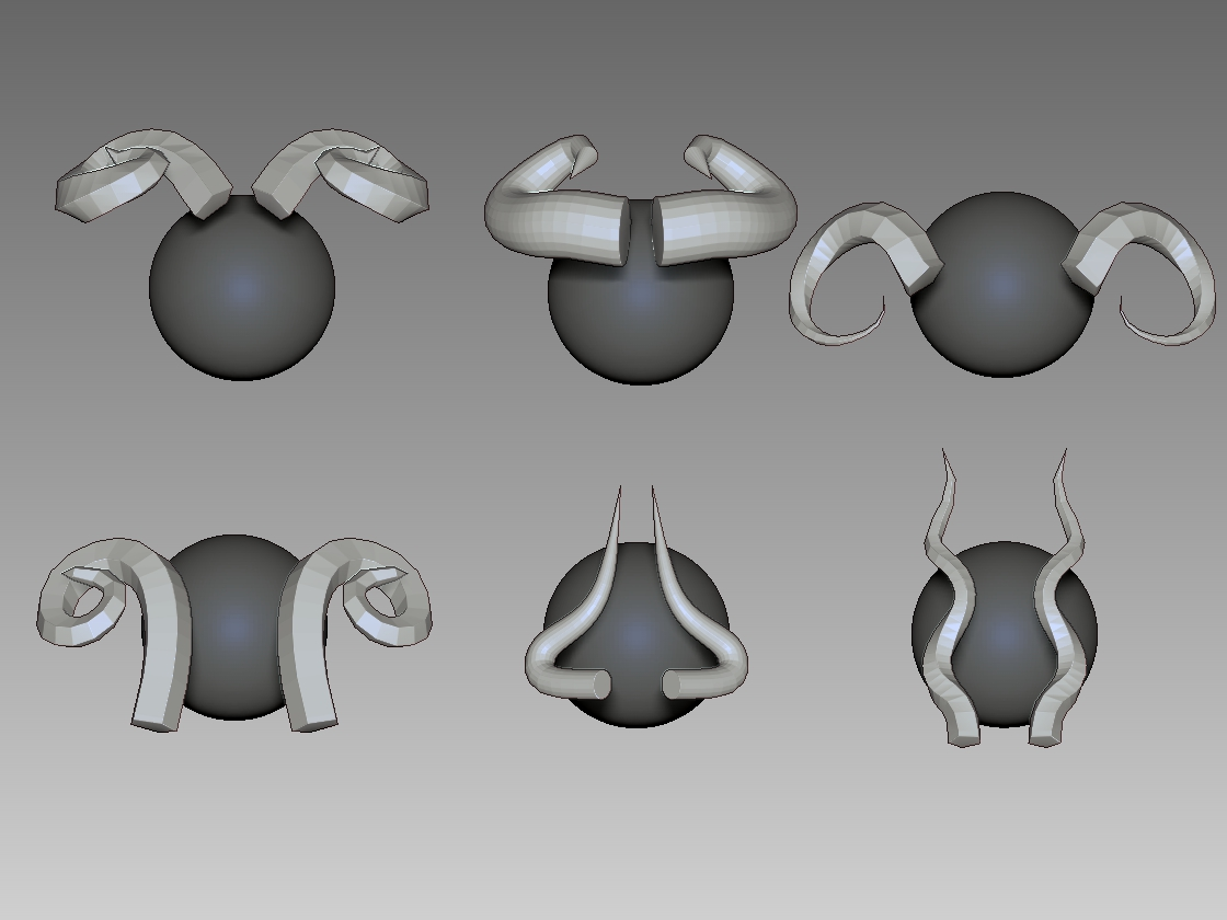 How To Create 3d Horns - Maya To Zbrush - Thumbnail.jpg