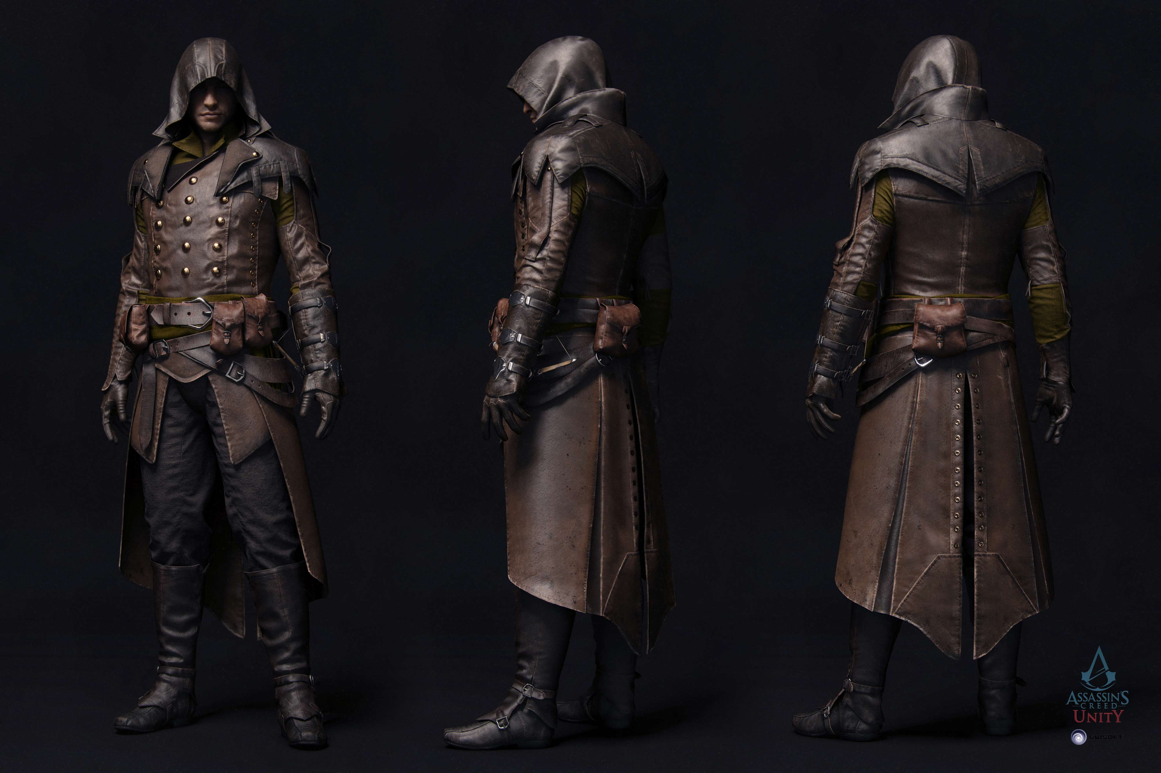 Assassin S Creed Unity Characters Zbrushcentral