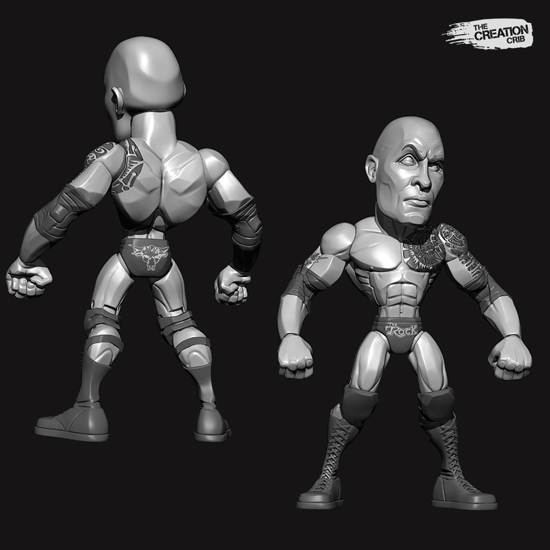 The Rock Zbrush Glam 01.jpg