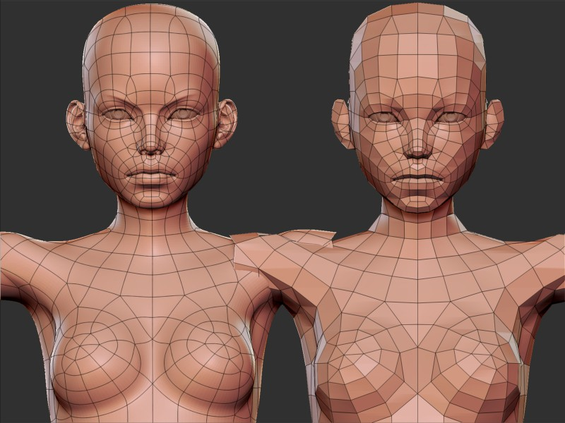 Building highly realistic facial modeling and