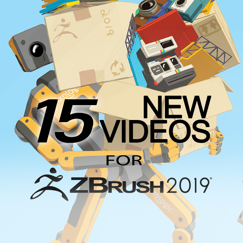 ZClassroom Update: 15 New Videos for ZBrush 2019 - ZBrushCentral