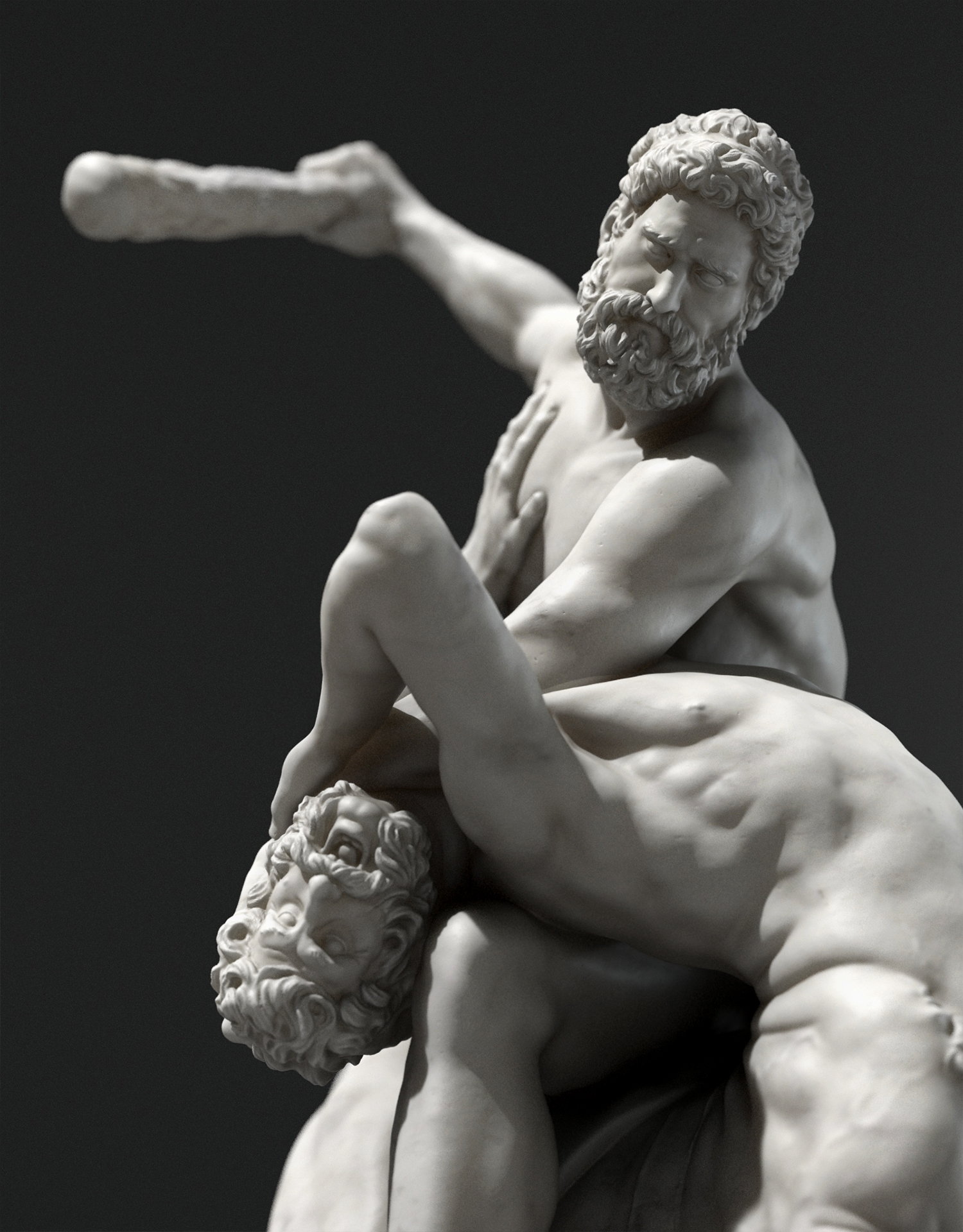 Hercules vs the Centaur Nessus - ZBrushCentral