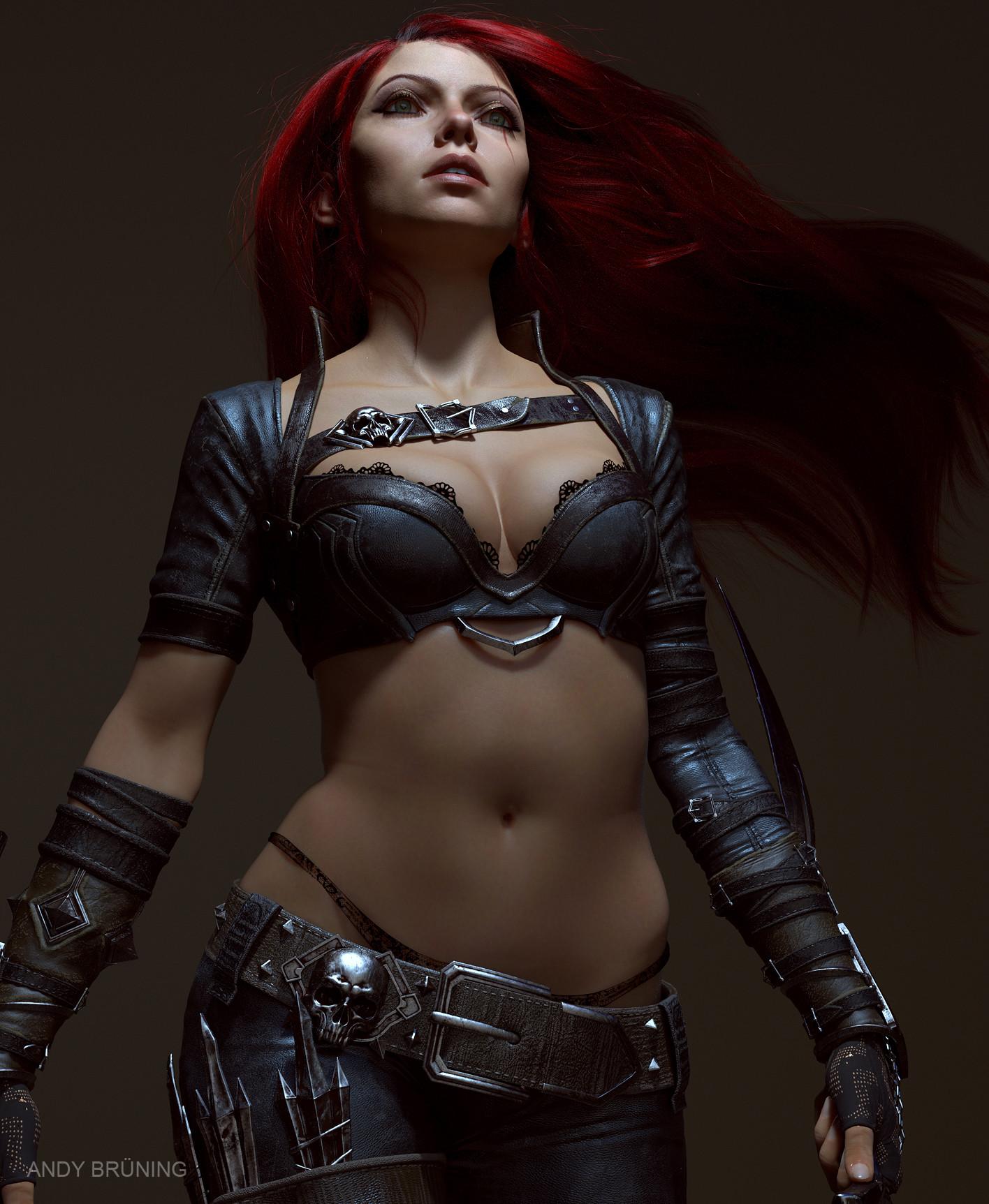 Katarina - League of Legends fan art ...