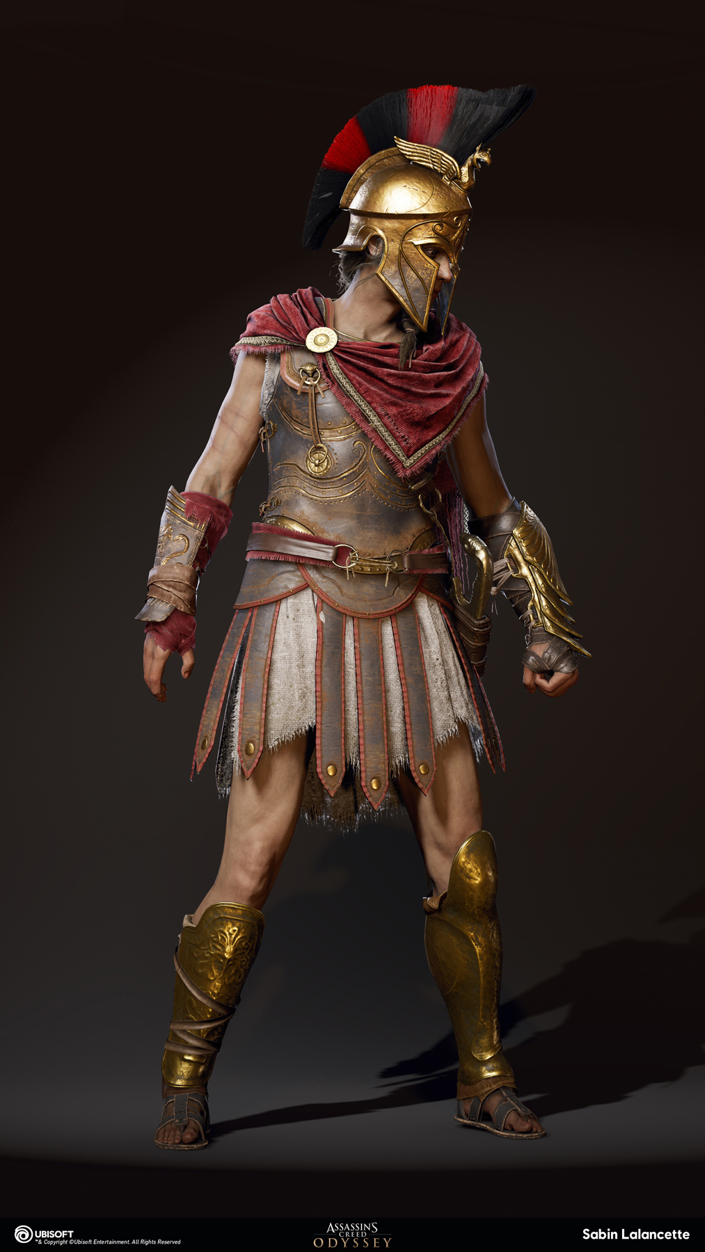Assassin S Creed Odyssey Character Team Post Zbrushcentral