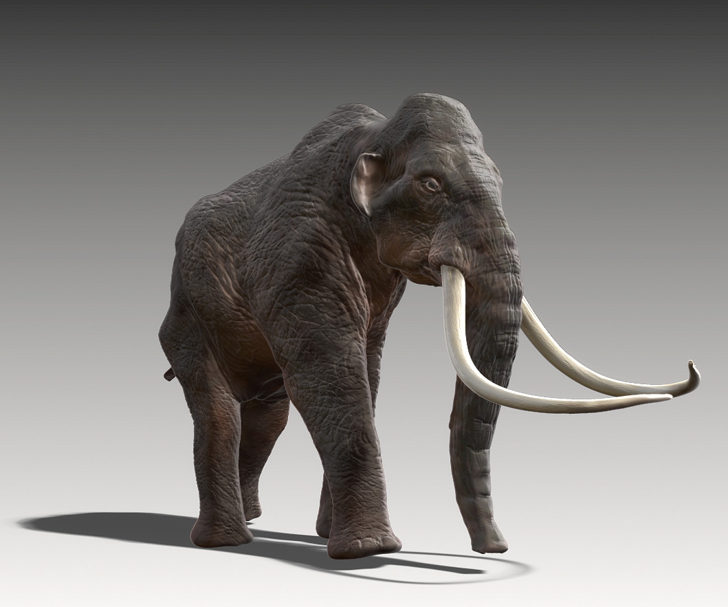 Mammoth poly painted 01.jpg