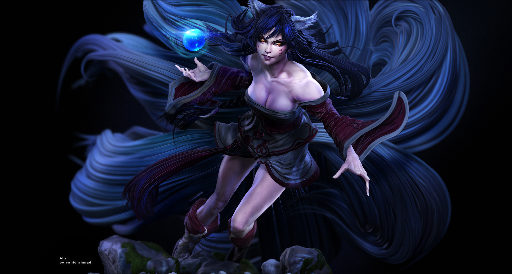 ahri league of legends  by vahid ahmadi ver1.jpg