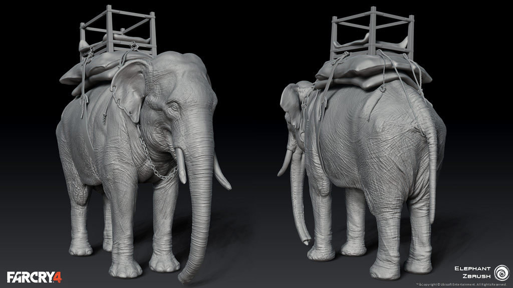 Far Cry 4 Zbrushcentral