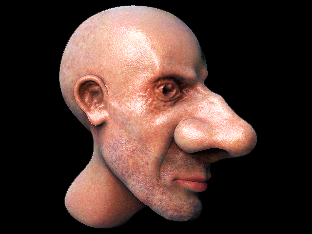 Big a picture nose of How to