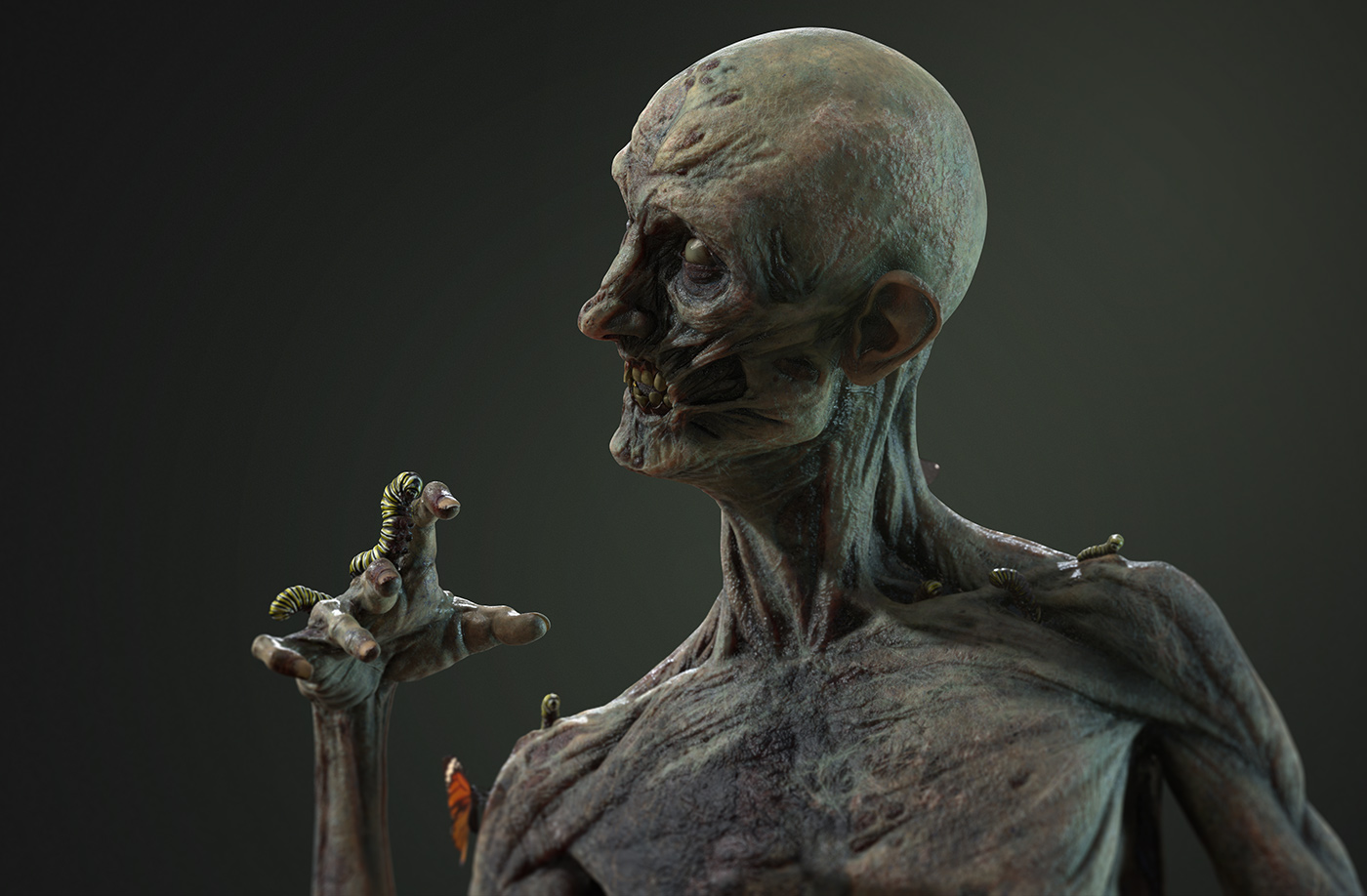 Zombie demo - ZBrushCentral