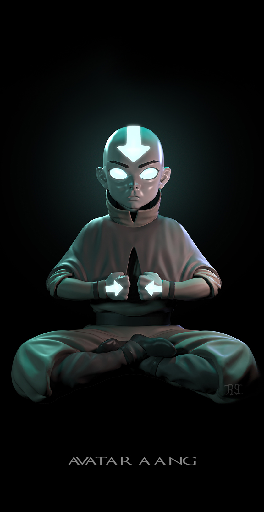 Avatar Aang The Last Airbender Zbrushcentral