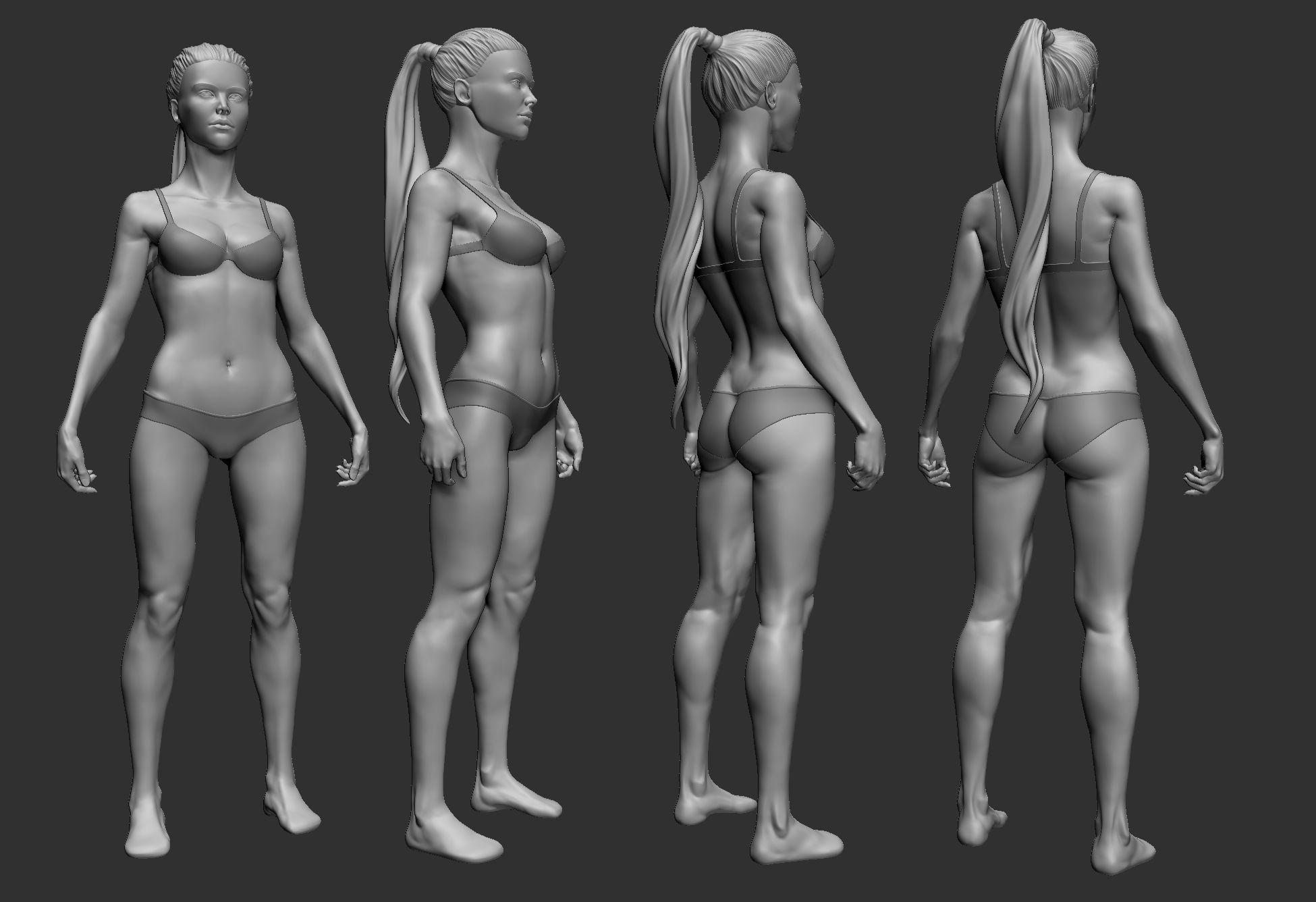 body texture 3d - HD1950×1336