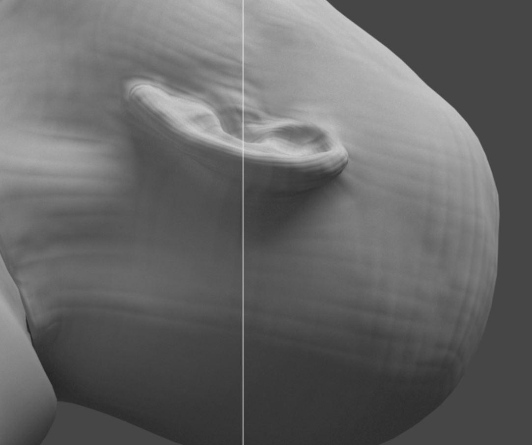 Normal Map render 3dsMax