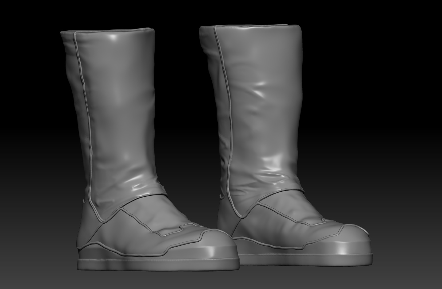 zbrush sculpted craftable boots.jpg