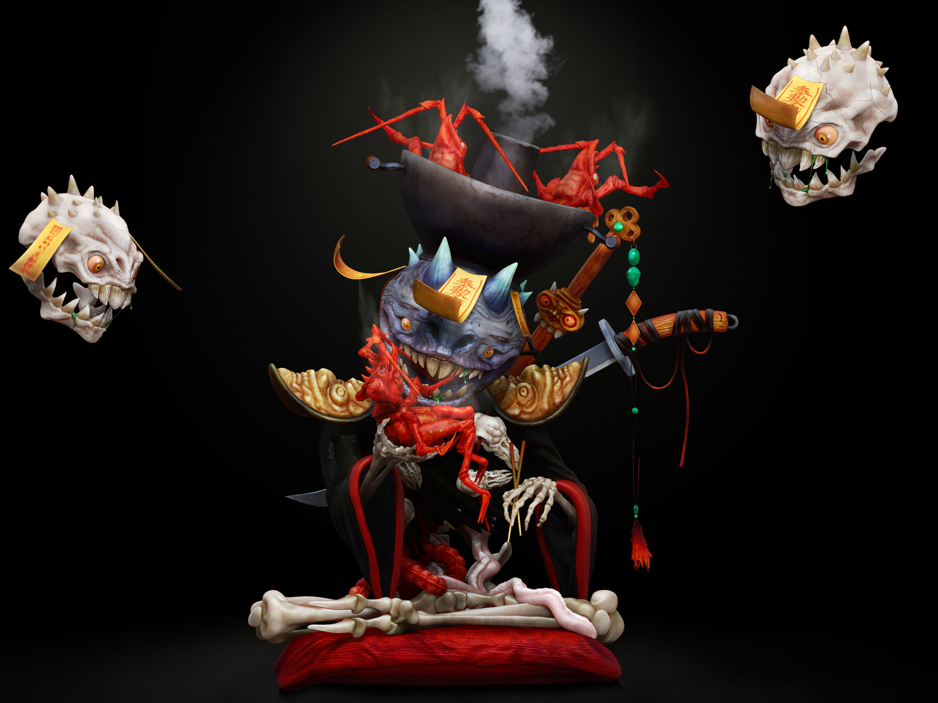 hotpot-eating-demon-3d-model-ztl (5).jpg