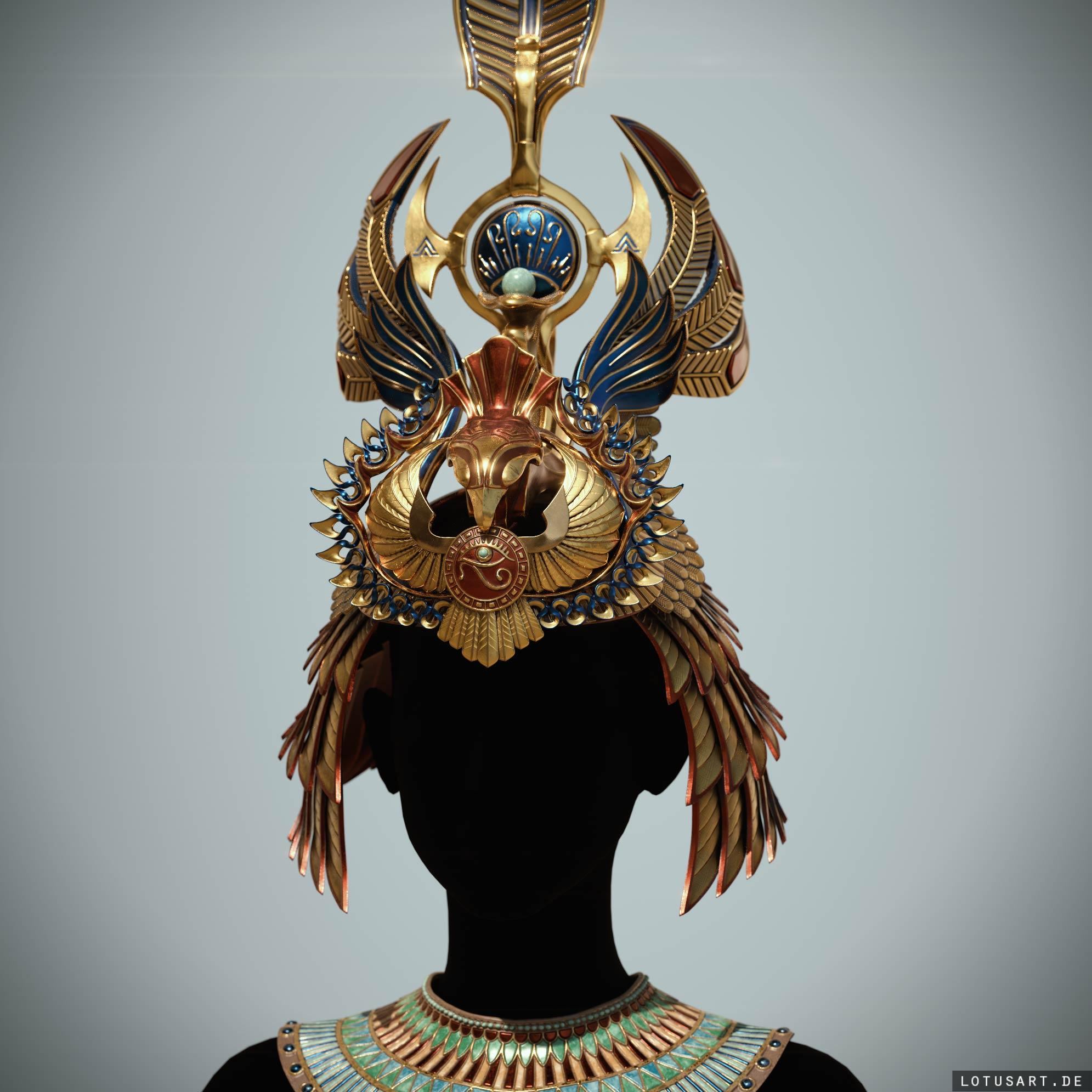 cleopatras_crown_3d_asset