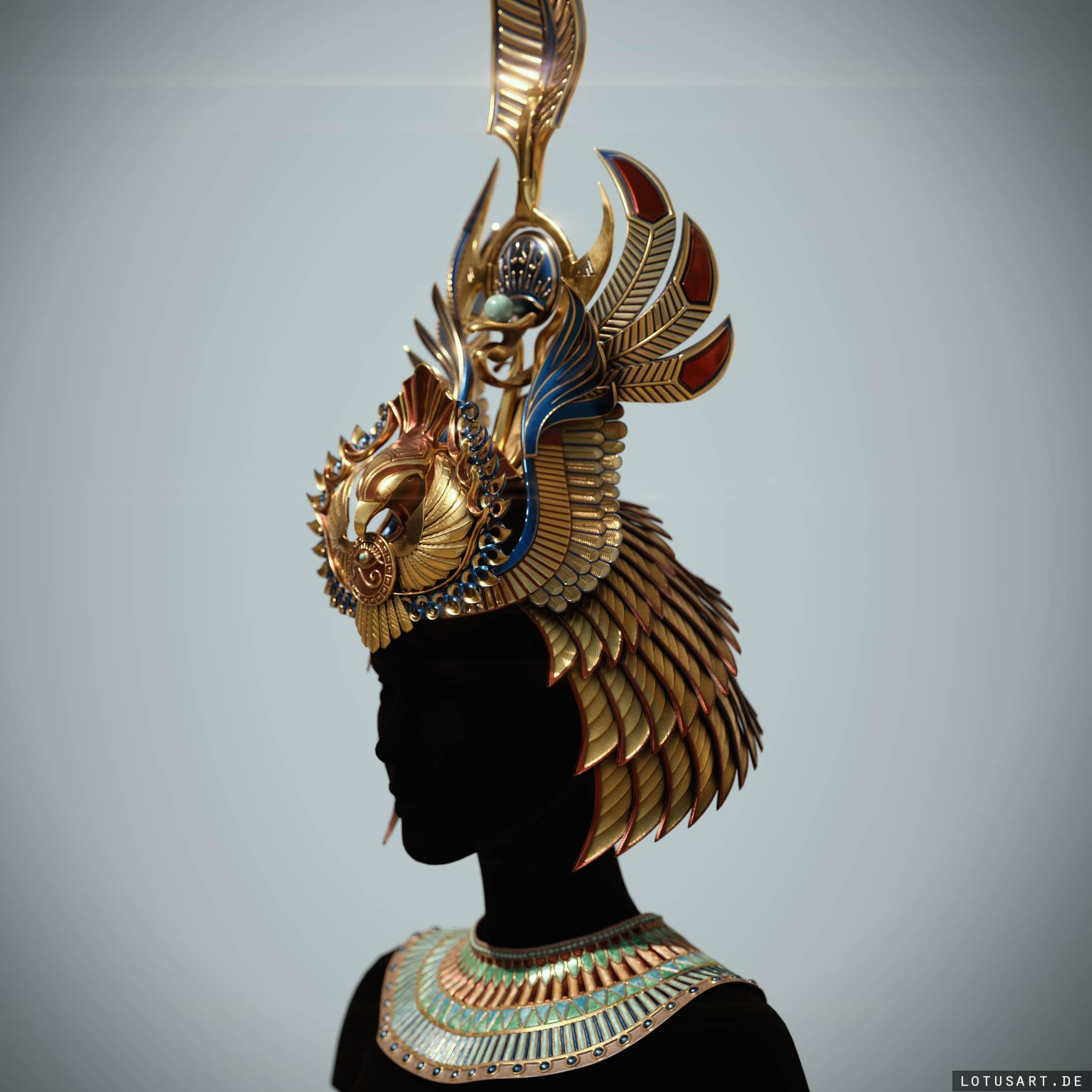 cleopatra_crown_zbrush_sculpting